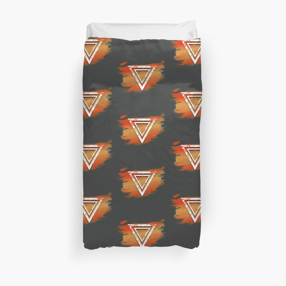 Jamon Paradigm Icon Duvet Cover