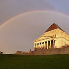 Remembrance Rainbow  by DashTravels