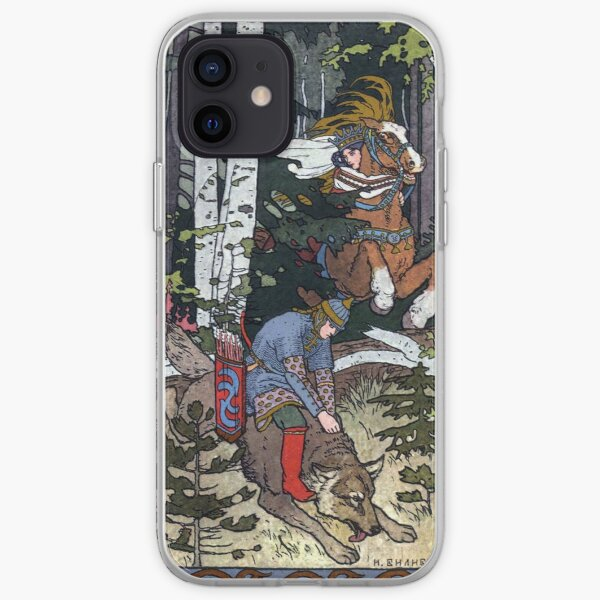 Ivan and the Wolf - Ivan Bilibin iPhone Soft Case