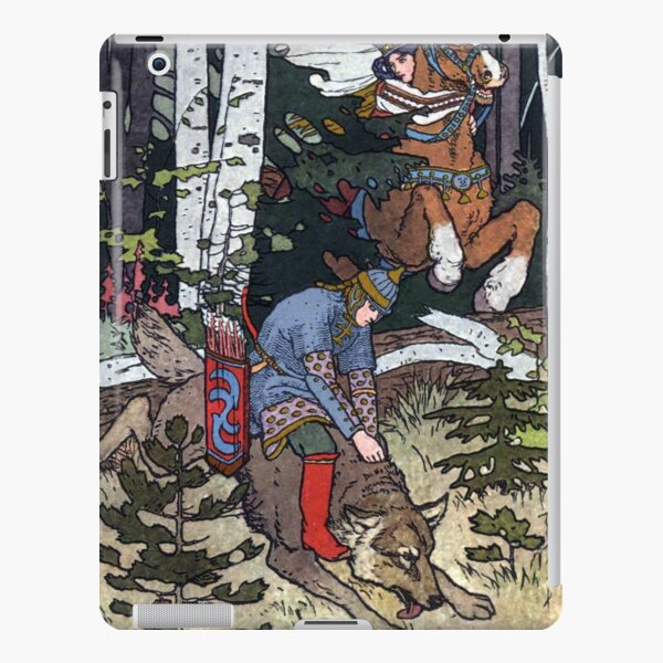 Ivan and the Wolf - Ivan Bilibin iPad Snap Case