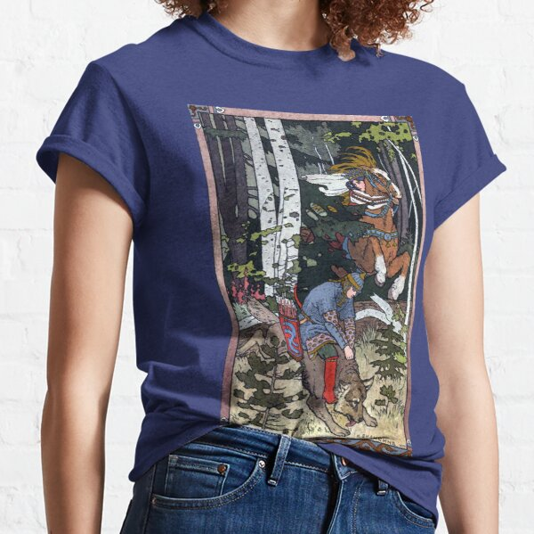 Ivan and the Wolf - Ivan Bilibin Classic T-Shirt