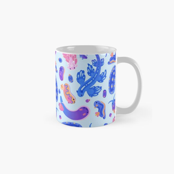 Sea slug - pastel blue Classic Mug