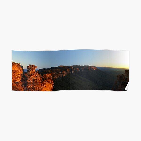 Boar's Head Rock, Narrowneck, NSW. Poster