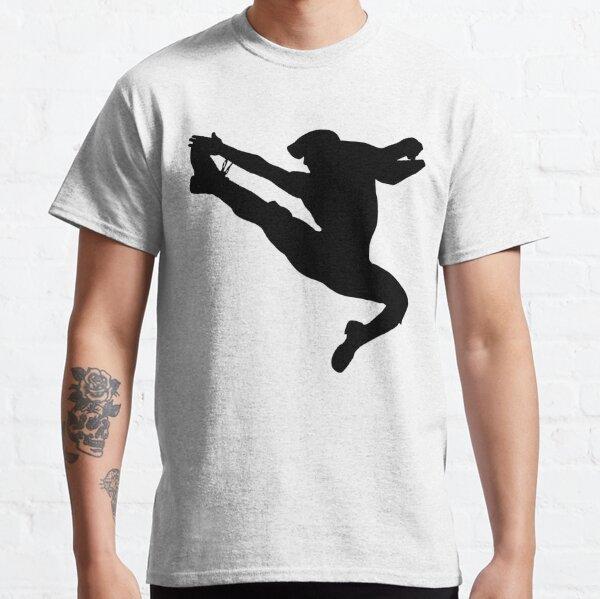 Jumping Newsies Newsboy White Background Classic T-Shirt