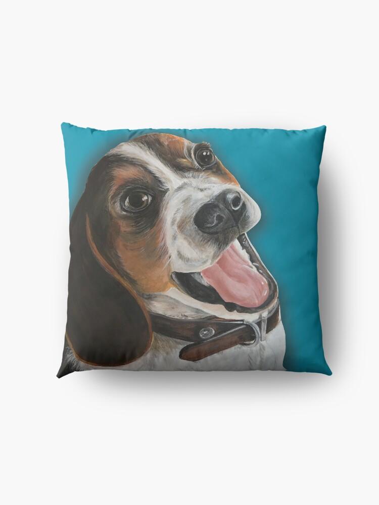 Alternate view of Beagle Lover Floor Pillow