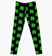 Happy Irish Shamrock Leggings