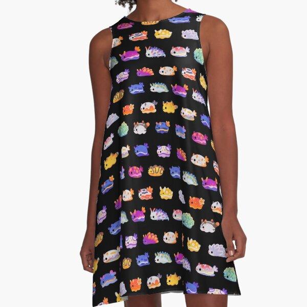 Sea Slug Day A-Line Dress
