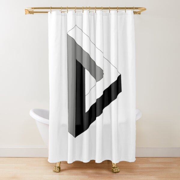 Sign, psychedelic art,art movement,psychedelic,movement,wallpaper, art Shower Curtain