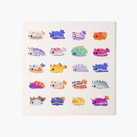 Sea Slug Day - bright Art Board Print