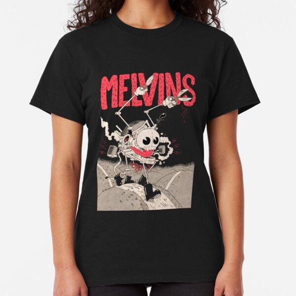 MELVINS T SHIRT VEST Soundgarden Sonic Youth Metal Grunge Punk Band Graphic Tee