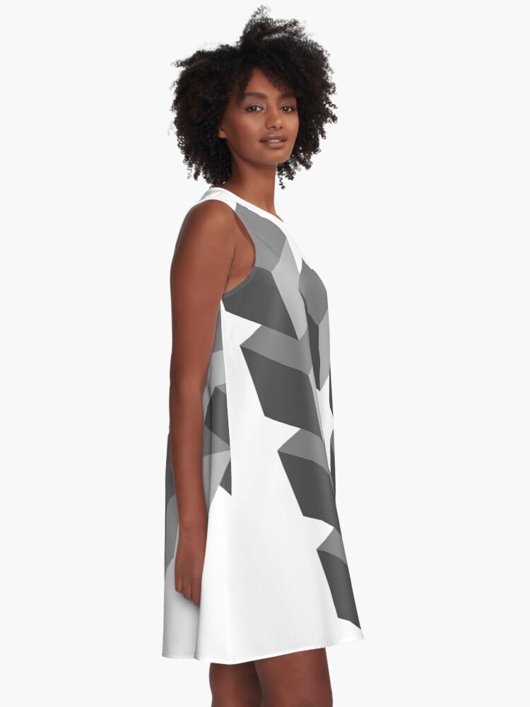 Alternate view of Triangle 2D shape A-Line Dress