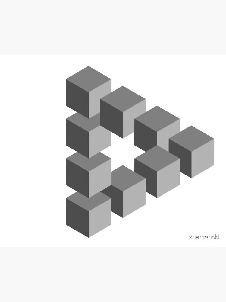 Triangle 2D shape by znamenski