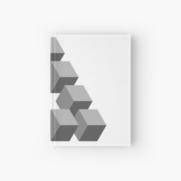 Triangle 2D shape Hardcover Journal