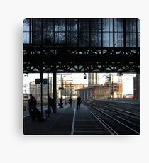 Stranger than fiction - Amsterdam CS Canvas Print