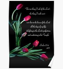 Psalm 27:4 Poster