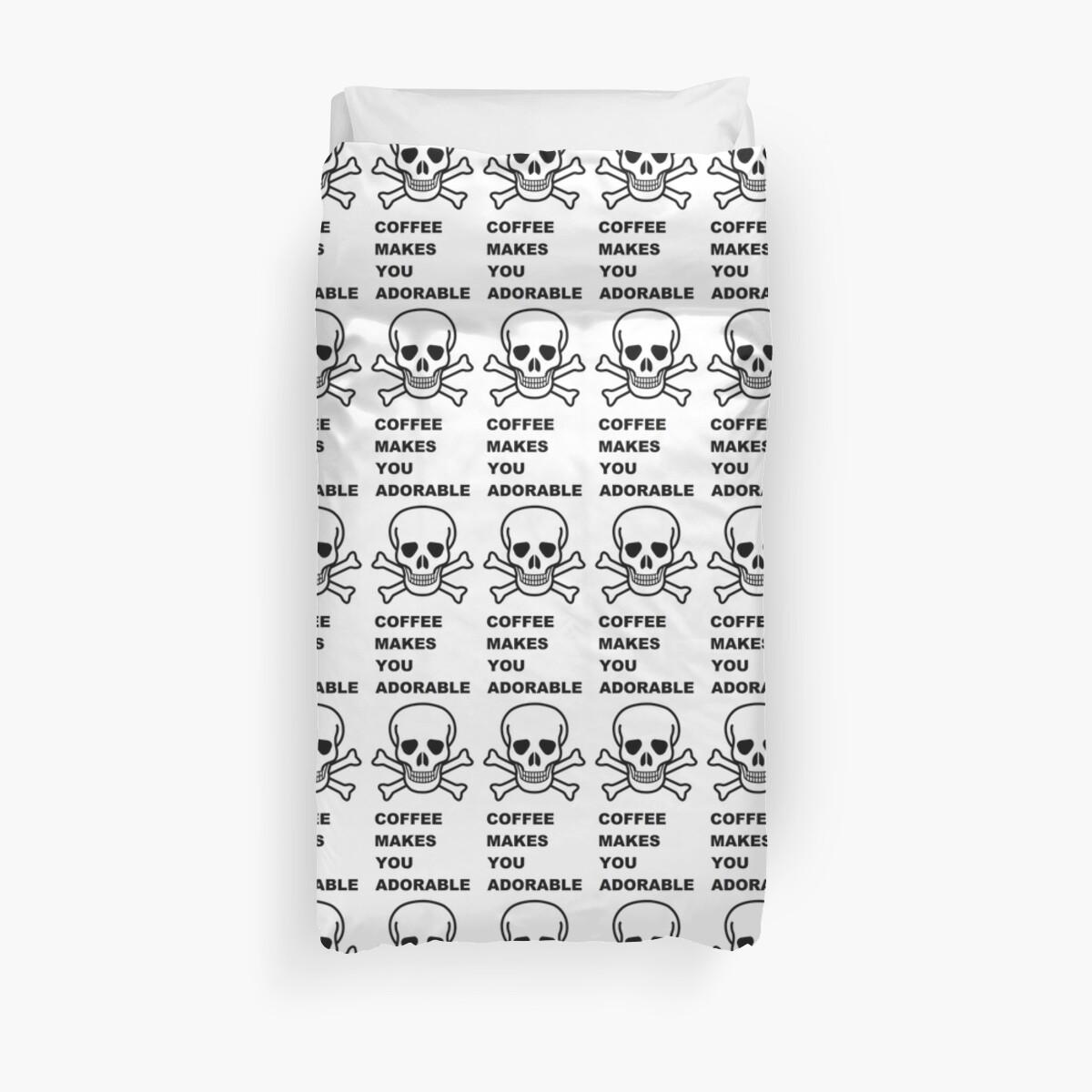 Skull & Crossbones ~ Coffee (Larger Version) by sLIB
