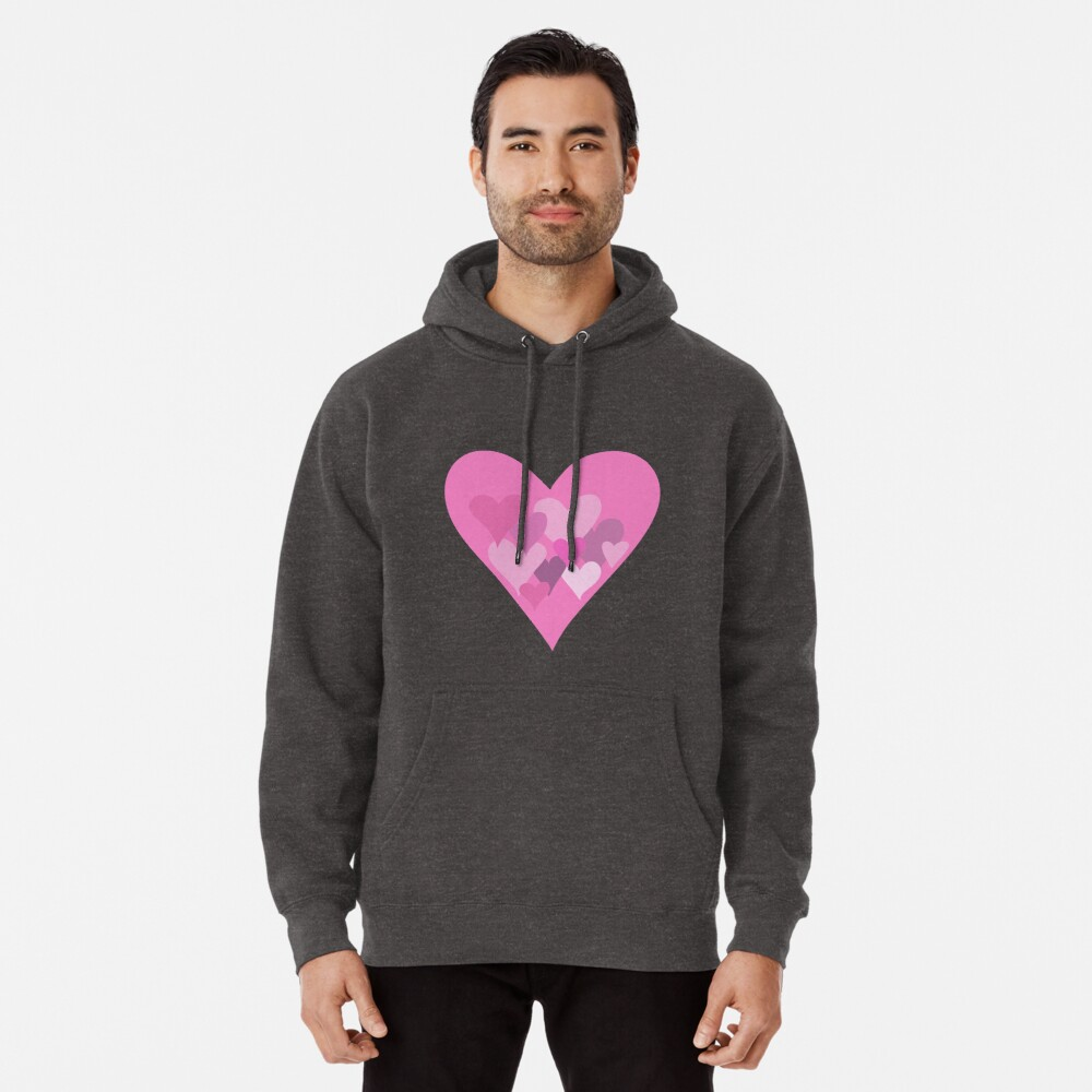 Hearts Pullover Hoodie