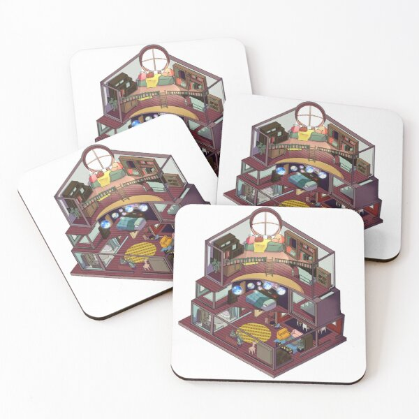 A Mad Home Coasters (Set of 4)