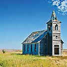 The Rocky Valley Lutheran Church, Dooley, Montana, USA by Bryan D. Spellman