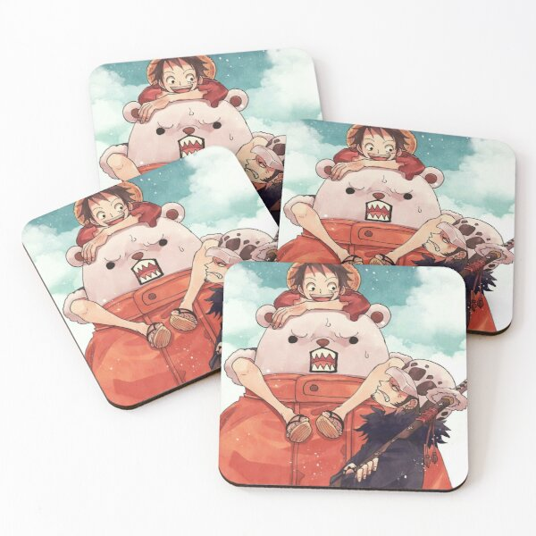 One Piece Coasters (Set of 4)