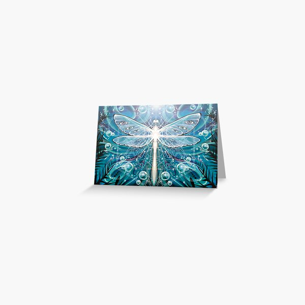 Dragonfly Dreaming Greeting Card