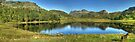 Two Tarns In September by Jamie  Green