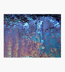 Waterfall...Rust and Wood ....Abstract Found Art #01 Photographic Print