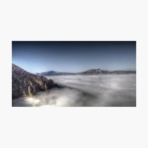 Above the clouds. Photographic Print