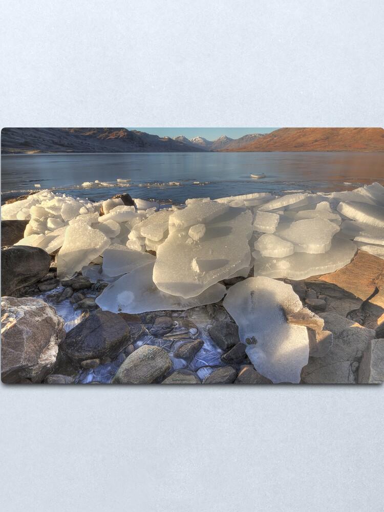 Alternate view of Arklet Ice (1) Metal Print