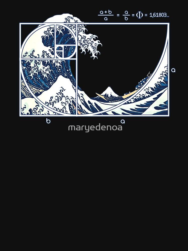 The Great Fibonacci Wave by maryedenoa