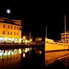 Night time in Riva del Garda by Martina Fagan