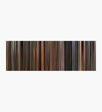 Moviebarcode: The English Patient (1996) Photographic Print