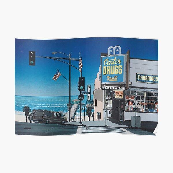 Hiroshi nagai Vaporwave esthétique Poster