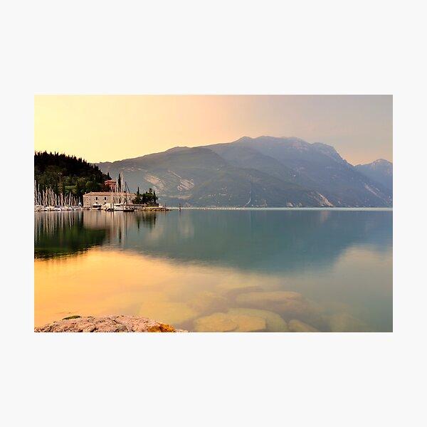 Un'altra mattina a Riva del Garda Photographic Print