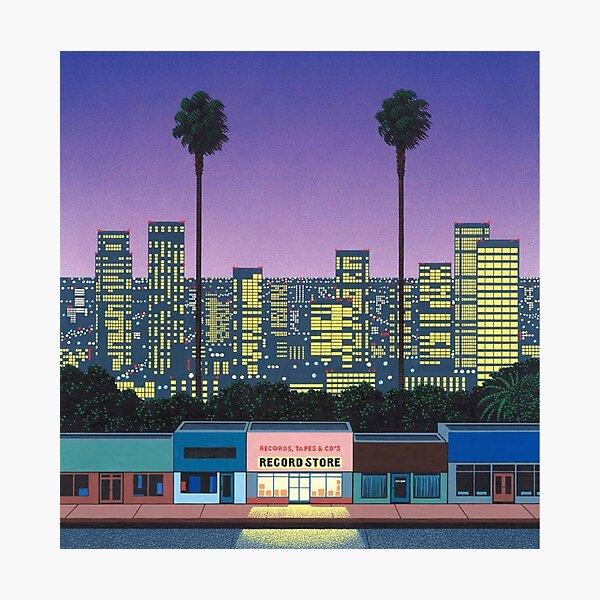 Hiroshi nagai Vaporwave esthétique Impression photo