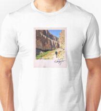 Canyon Hiker Polaroid Unisex T-Shirt