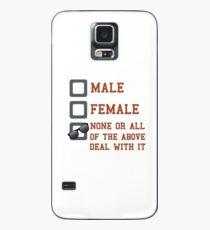 Funda/vinilo para Samsung Galaxy Funny Gender Neutral