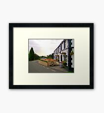 View from the side Framed Print