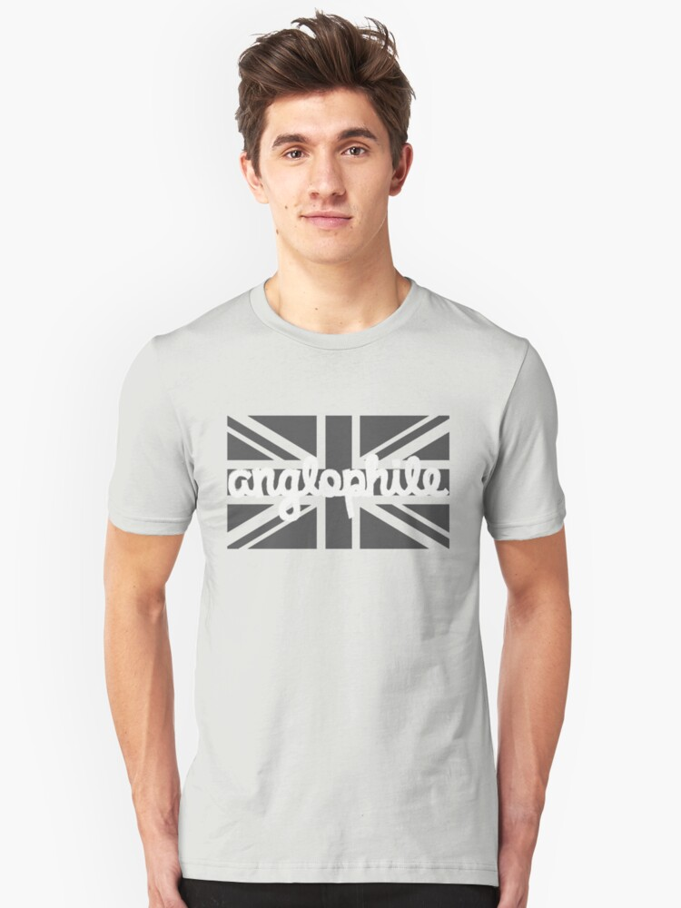 Anglophile Unisex T-Shirt Front