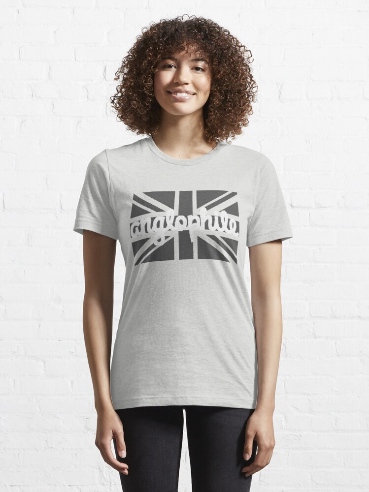 Alternate view of Anglophile Essential T-Shirt
