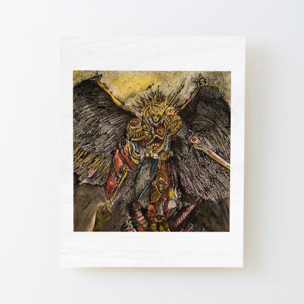 Sanguinius Wood Mounted Print