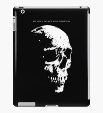 And There's Two White Horses Following Me iPad Case/Skin