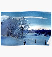 Winter Afternoon, Austria Poster