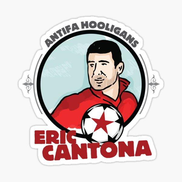 Eric Cantona - ANTIFA Sticker