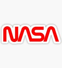 1970's NASA Logo Sticker