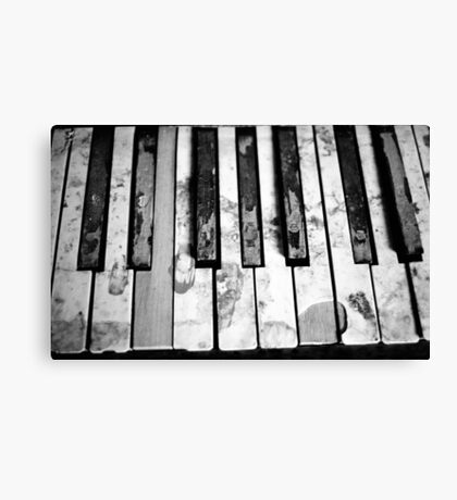 """Off key"" Canvas Print"