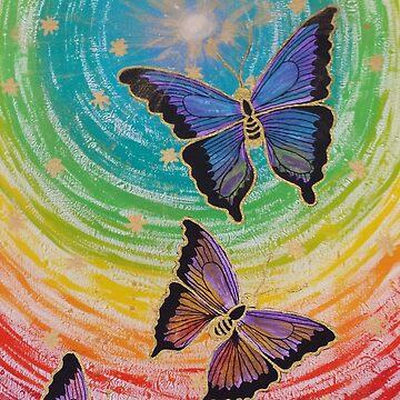 Transformational Butterflies by YasminChambers