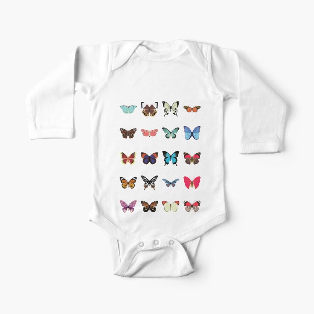 Butterflies Baby One-Piece