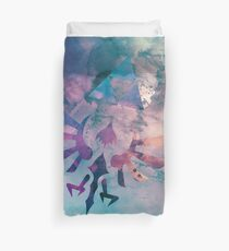 Watercolored Hylian Crest Duvet Cover