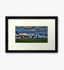 Farm Austria Framed Print